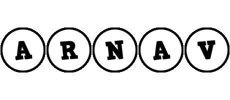 Arnav handy logo
