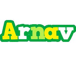 Arnav soccer logo