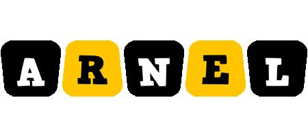 Arnel boots logo