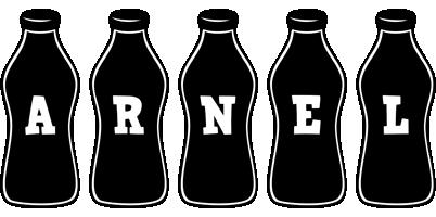 Arnel bottle logo