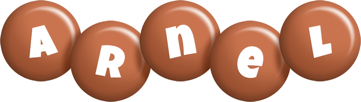 Arnel candy-brown logo