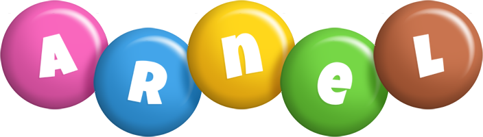 Arnel candy logo