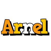 Arnel cartoon logo