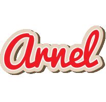 Arnel chocolate logo
