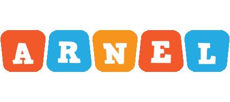 Arnel comics logo