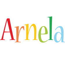 Arnela birthday logo