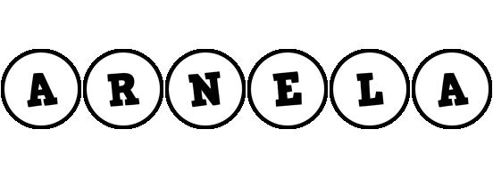 Arnela handy logo