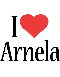 Arnela i-love logo