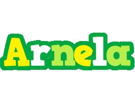 Arnela soccer logo