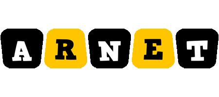 Arnet boots logo