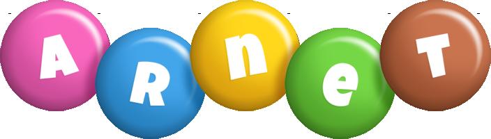 Arnet candy logo