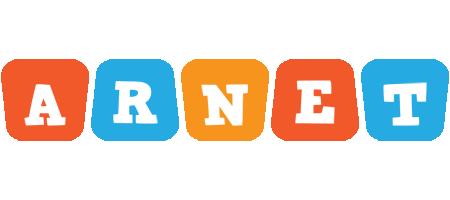 Arnet comics logo