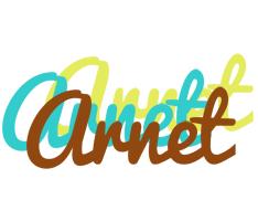 Arnet cupcake logo