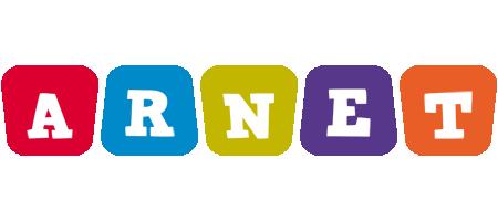 Arnet daycare logo