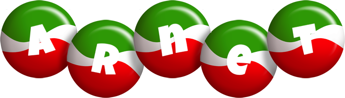 Arnet italy logo