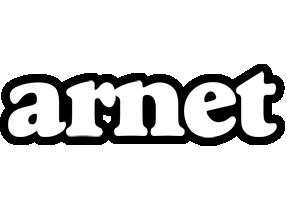 Arnet panda logo