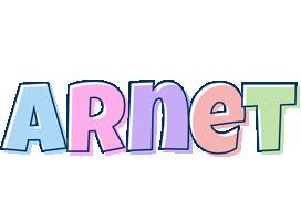 Arnet pastel logo