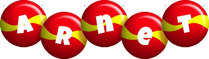Arnet spain logo