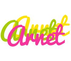 Arnet sweets logo