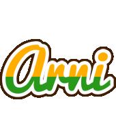 Arni banana logo