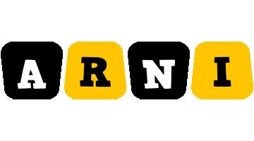 Arni boots logo