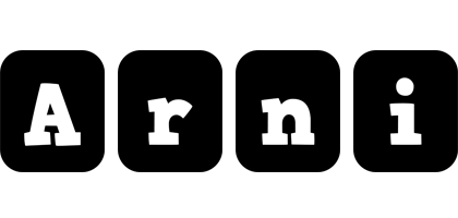 Arni box logo