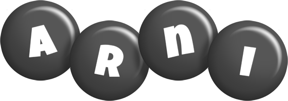Arni candy-black logo