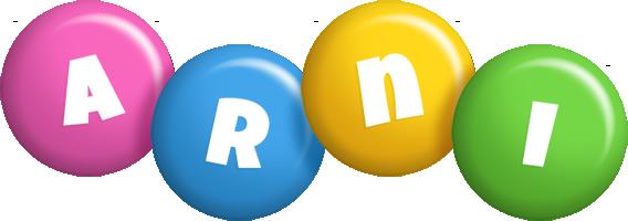 Arni candy logo