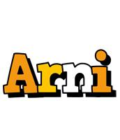 Arni cartoon logo