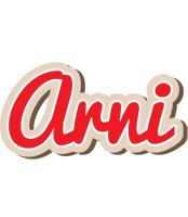 Arni chocolate logo