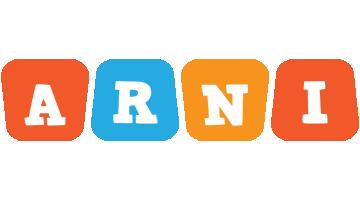 Arni comics logo