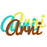 Arni cupcake logo