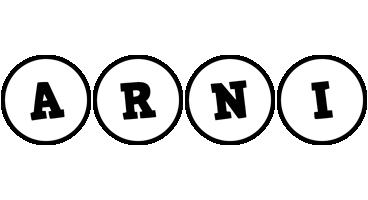 Arni handy logo