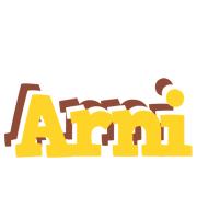 Arni hotcup logo