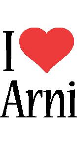 Arni i-love logo
