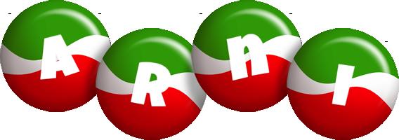 Arni italy logo