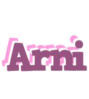 Arni relaxing logo