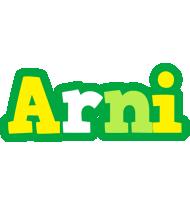 Arni soccer logo