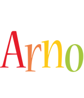Arno birthday logo