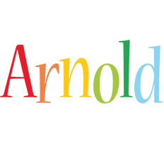 Arnold birthday logo