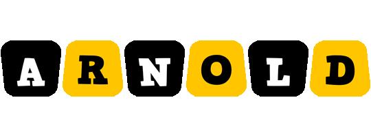 Arnold boots logo
