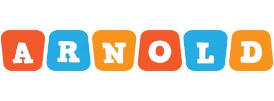 Arnold comics logo