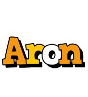 Aron cartoon logo