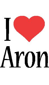 Aron i-love logo