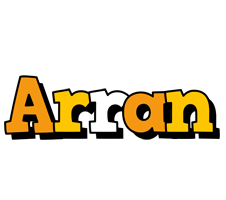 Arran cartoon logo