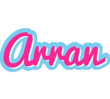 Arran popstar logo