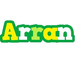 Arran soccer logo