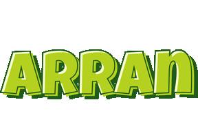 Arran summer logo