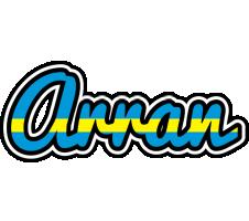 Arran sweden logo