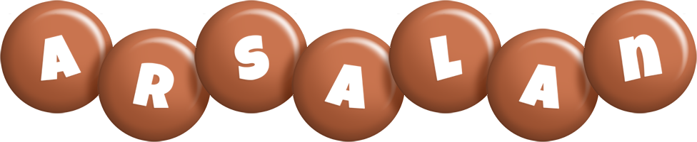 Arsalan candy-brown logo